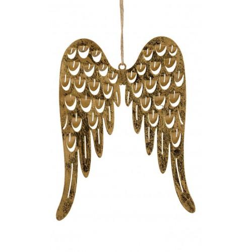 Zlatá křídla na zavěšení -...