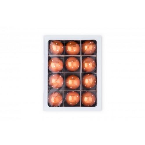 12 ks sada, koule oranžová...